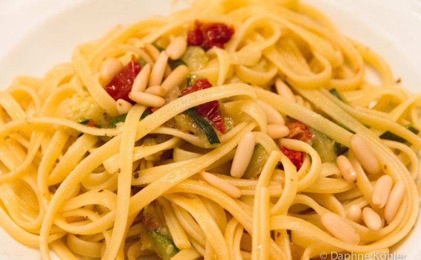 Zucchini-Bavette